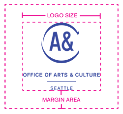Office of Arts & Culture logo with gutter